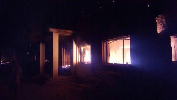 L'ospedale dei Medici senza frontiere in fiamme, Kunduz - Sputnik Italia