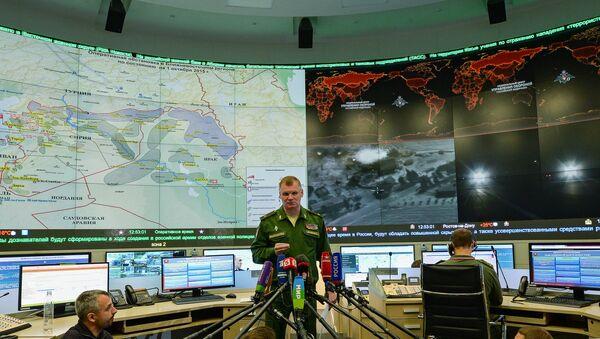 Briefing del generale Igor Konashenkov - Sputnik Italia