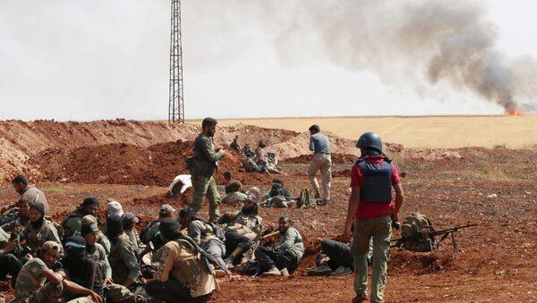 Militanti nelle vicinanze di Aleppo - Sputnik Italia