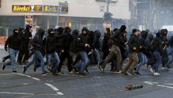 movimento  Blockupy a Francoforte - Sputnik Italia