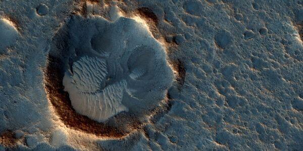 Una foto della Acidalia Planitia su Marte, dove si svolge la storia narrata nel film Sopravvissuto - The Martian. - Sputnik Italia