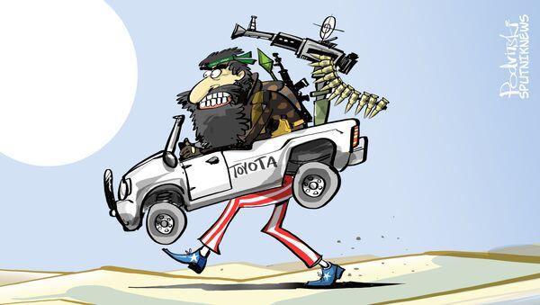 Toyota dell'ISIS - Sputnik Italia