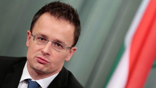 Hungarian Foreign Minister Peter Szijjarto - Sputnik Italia