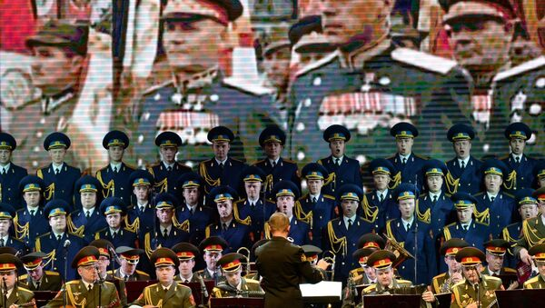 Coro dell'Armata Rossa (Complesso Accademico di Canto e Ballo dell'Esercito Sovietico A.V. Aleksandrov) - Sputnik Italia