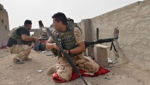 Esercito iracheno contro ISIS (foto d'archivio) - Sputnik Italia
