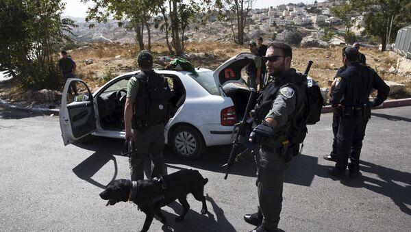 Polizia in Palestina - Sputnik Italia