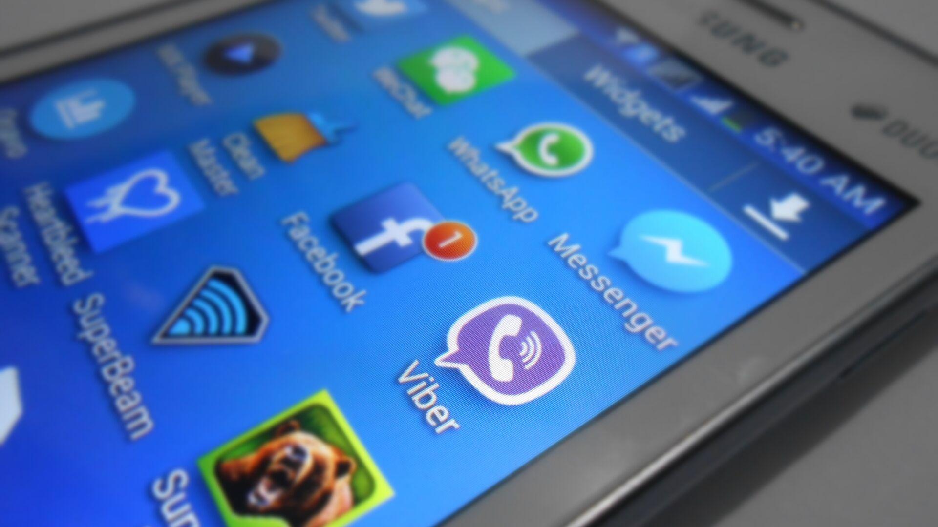 Viber, WhatsApp and other applications. - Sputnik Italia, 1920, 30.05.2021