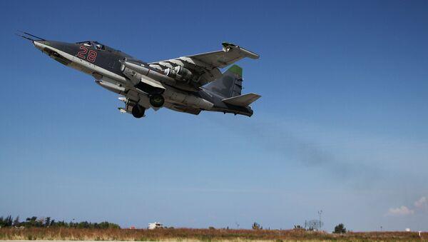 Caccia russo Su-25 in Siria - Sputnik Italia