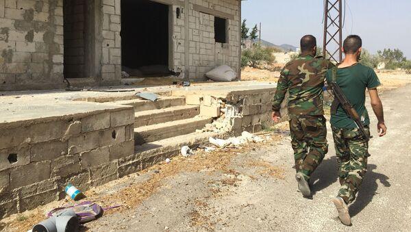 Che torni la pace, un altro villaggio siriano liberato dai terroristi - Sputnik Italia