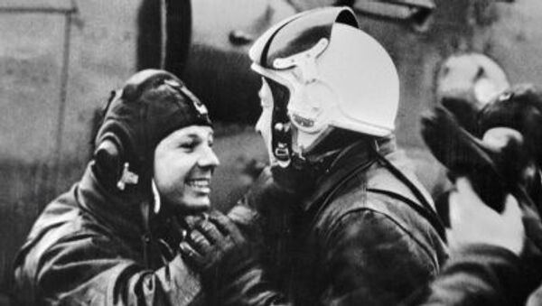 Yuri Gagarin ed Alexey Leonov - Sputnik Italia