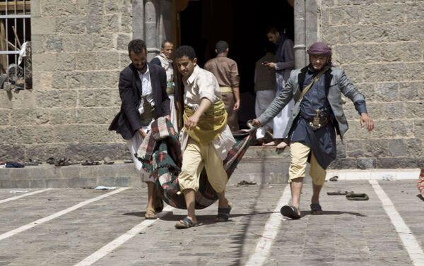 L`attacco terroristico alla moschea di Sanaa, la capitale dello Yemen - Sputnik Italia