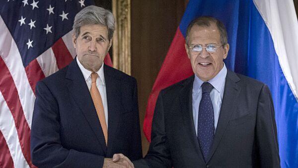 John Kerry e Sergey Lavrov a Vienna - Sputnik Italia