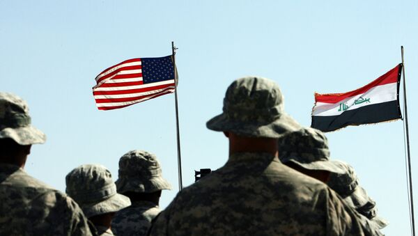 Le truppe USA e quelle irachene insieme - Sputnik Italia