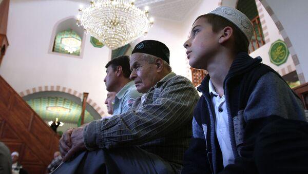 In moschea a Simferopoli, la citta` principale di penisola di Crimea - Sputnik Italia
