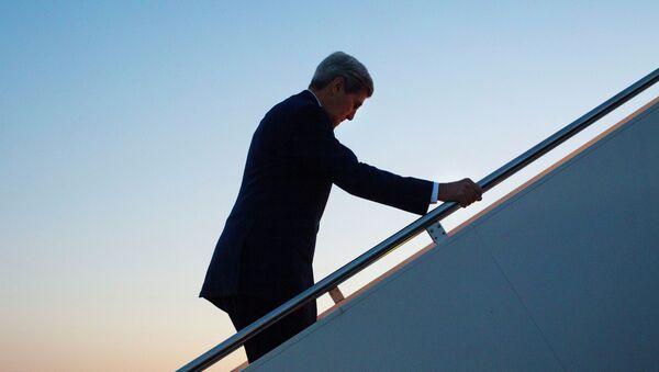 Secretario di Stato John Kerry fa la sua prima visita in repubbliche ex-sovietiche dell`Asia Centrale - Sputnik Italia