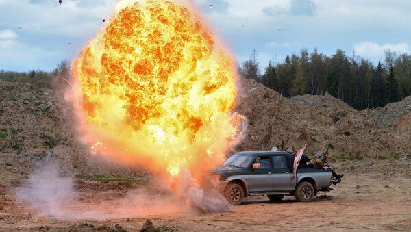 Esplosione in Afghanistan (ricostruzione) - Sputnik Italia