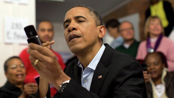 Obama al telefono - Sputnik Italia