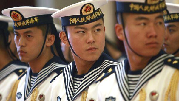 Militari delle forze navali cinesi - Sputnik Italia