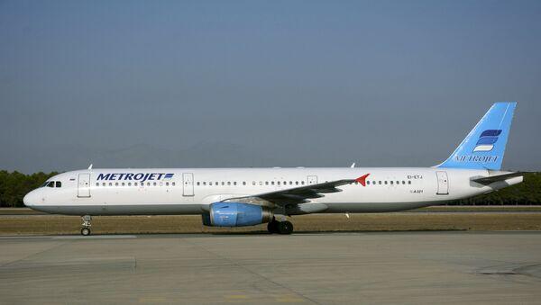 Airbus A-321 della compagnia russa Metrojet, precipitato in Egitto - Sputnik Italia