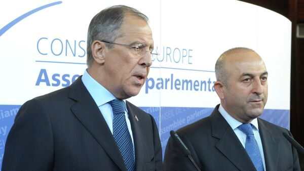 Mevlüt Çavuşoğlu & Sergey Lavrov - Sputnik Italia
