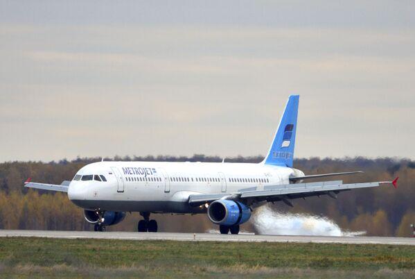 L'aereo Airbus-321 della compagnia aerea Kogalymavia. - Sputnik Italia