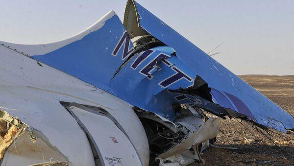 Rottami dell'Airbus A321 russo precipitato in Egitto - Sputnik Italia