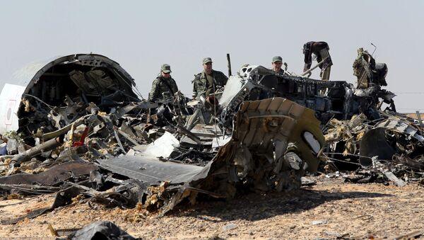 I rottami dell'Airbus-321 - Sputnik Italia