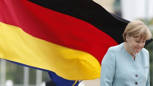 Канцлер Германии Ангела Меркель в Боснии  - Sputnik Italia