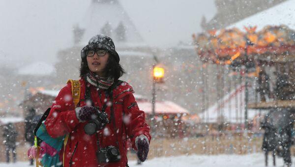 Turista a Mosca d'inverno - Sputnik Italia