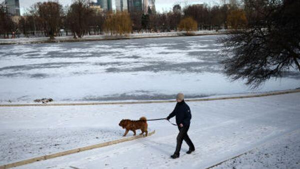 A Mosca la neve ha rifatto la sua comparsa nel primo giorno di primavera - Sputnik Italia