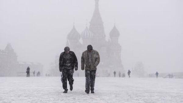Neve sulla piazza Rossa - Sputnik Italia