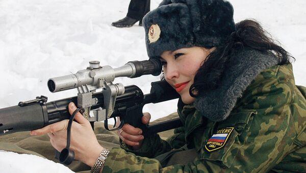 Donna soldato russa - Sputnik Italia