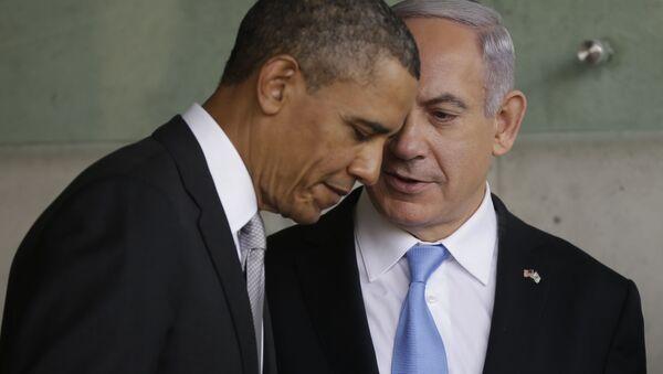 Barack Obama e Benjamin Netanyahu - Sputnik Italia