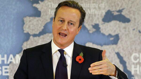 Il premier britannico David Cameron - Sputnik Italia