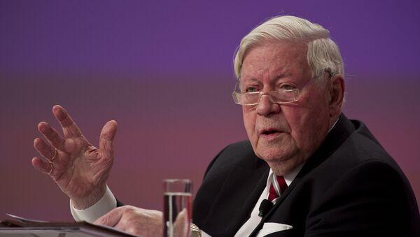 Helmut schmidt, l'ex cancelliere tedesco - Sputnik Italia
