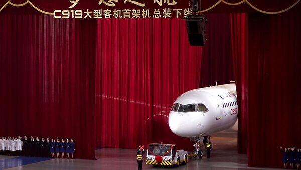 La presentazione del C919 cinese - Sputnik Italia