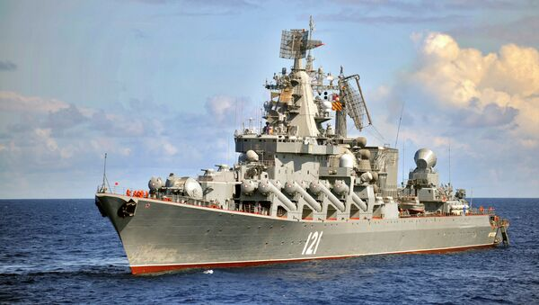 Incrociatore missilistico Moskva - Sputnik Italia