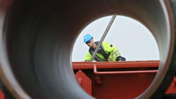 Cтроительство газопровода Северный поток (Nord Stream) - Sputnik Italia