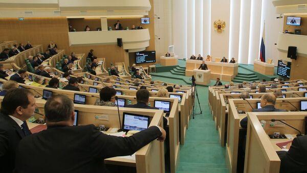 Aula del Consiglio della Federazione - Sputnik Italia
