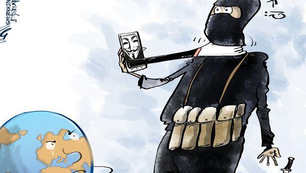 Anonymous dichiara guerra all'ISIS - Sputnik Italia