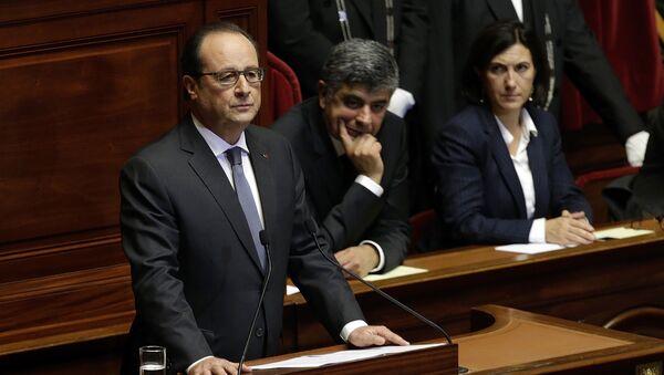 Discorso di Francois Hollande al Parlamento - Sputnik Italia