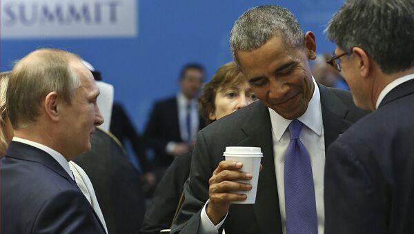 Obama e Putin al G20 - Sputnik Italia
