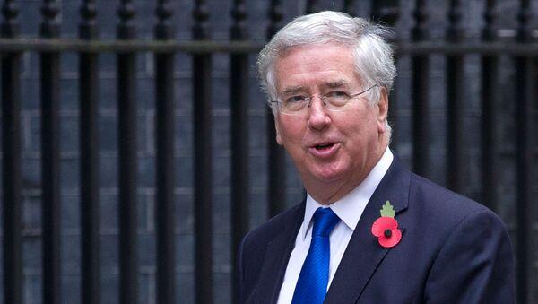 Ministro della Difesa della Gran Bretagna Michael Fallon - Sputnik Italia