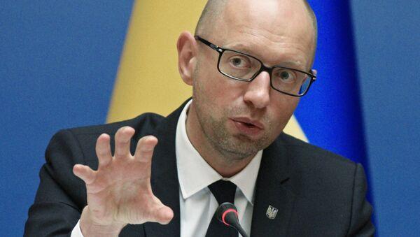 Premier ucraino Arseniy Yatsenyuk - Sputnik Italia