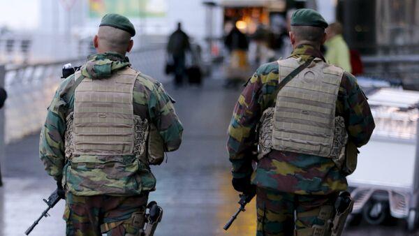 Soldati belgi a Bruxelles - Sputnik Italia