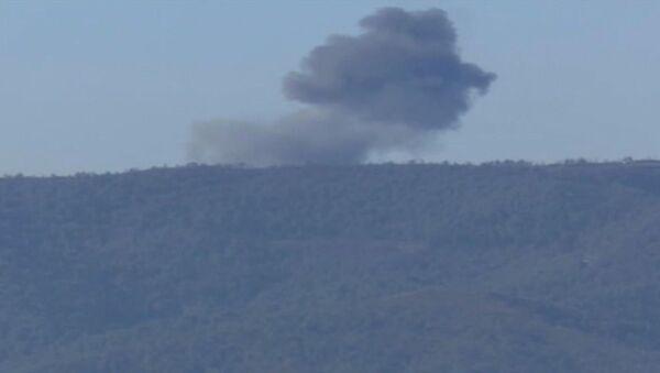 Schianto caccia russo Su-24 al confine turco-siriano - Sputnik Italia