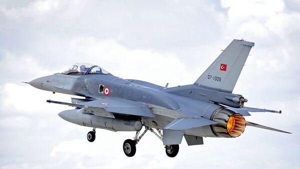 Turkish Air Force F-16 - Sputnik Italia