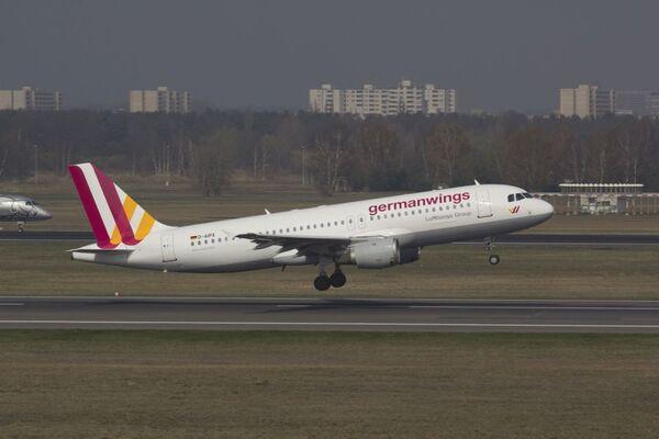 Un Airbus A-320 della Germanwings - Sputnik Italia