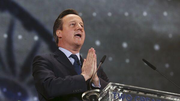 David Cameron, il premier britannico - Sputnik Italia