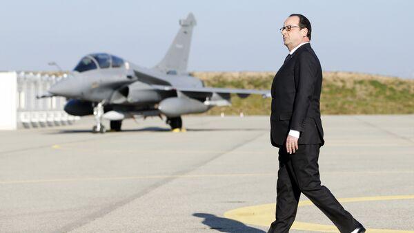 Il presidente francese Francois Hollande - Sputnik Italia